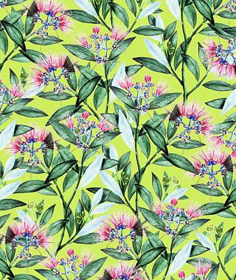 Digital Art - Floral Cure by Uma Gokhale