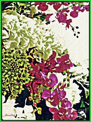 Photograph - Floral Design 1 by Sarah Loft