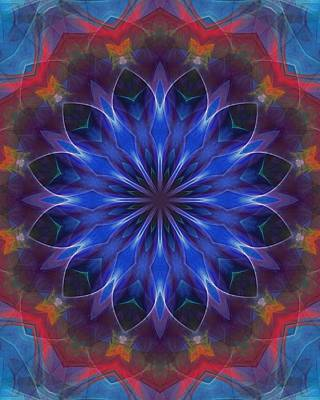 Digital Art - Floral Digital Doodle 110510 by David Lane