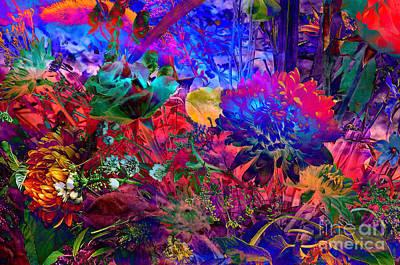 Floral Dream Of Summer Art Print