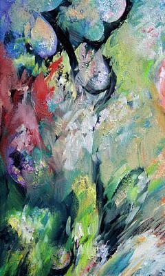 Floral Enchantment Art Print