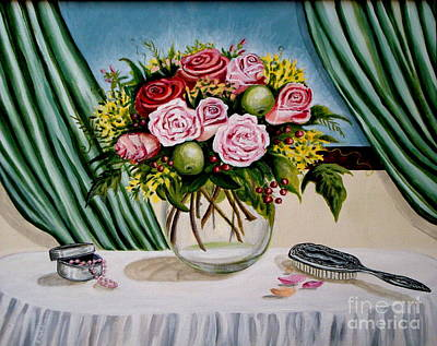 Painting - Floral Essence by Elizabeth Robinette Tyndall