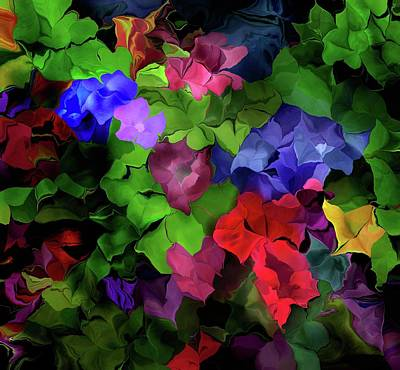 Digital Art - Floral Expression 061116 by David Lane