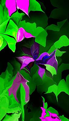 Digital Art - Floral Expression 062115 by David Lane