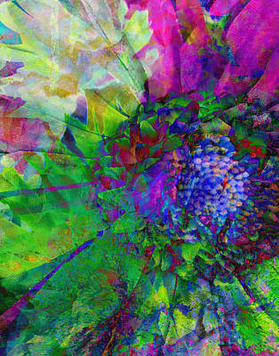 Floral Expressions I Art Print by Ricki Mountain