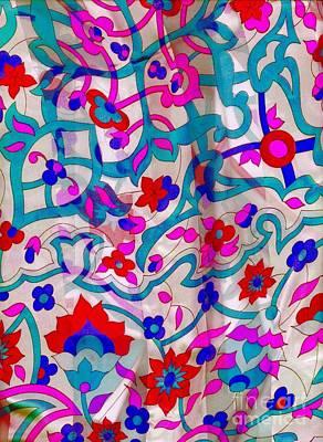 Photograph - Floral Fabric by Tamarra Tamarra