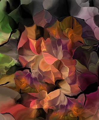 Digital Art - Floral Fantasy 050616 by David Lane
