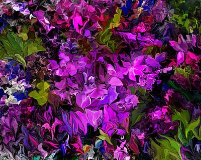 Digital Art - Floral Fantasy 062816 by David Lane
