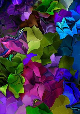 Digital Art - Floral Fantasy 070216 by David Lane