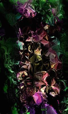 Digital Art - Floral Fantasy 072817 by David Lane