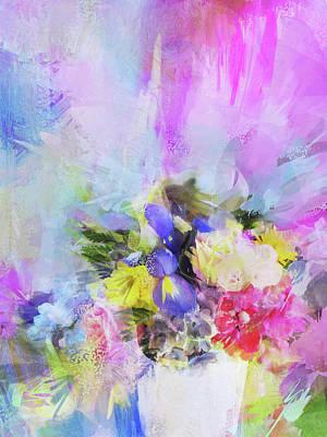 Photograph - Floral Fantasy by Carla Parris