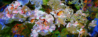 Artography Painting - Floral Fiction 2 by Hanne Lore Koehler