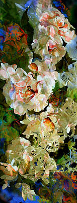 Artography Painting - Floral Fiction by Hanne Lore Koehler