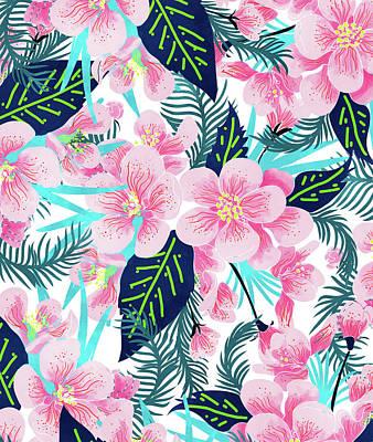 Digital Art - Floral Gift by Uma Gokhale