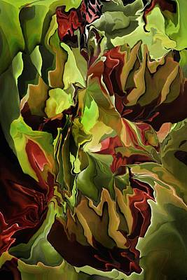 Digital Art - Floral Imagination  by David Lane