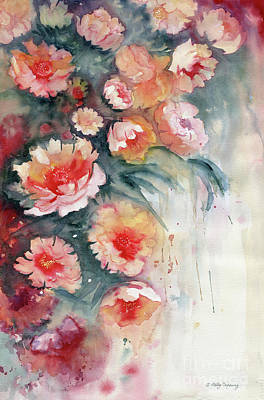 Painting - Floral Impressionist Watercolor by Melly Terpening