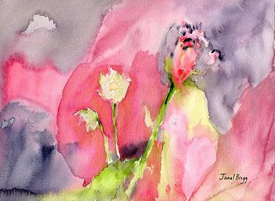 Painting - Floral On Tuesday by Janel Bragg