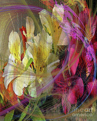 Digital Art - Floral Inspiration by John Beck
