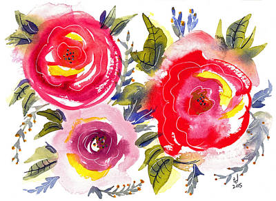 Floral Iv Art Print