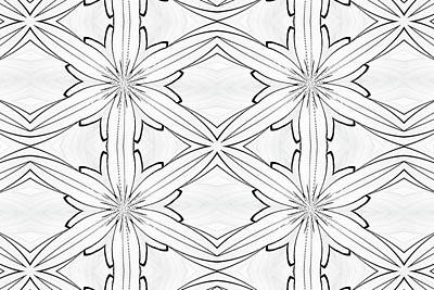 Digital Art - Floral Lattice by Michelle McPhillips