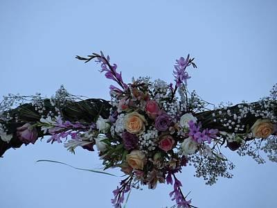 floral love in the Kenyan sky Art Print