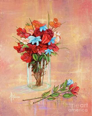 Thomas Kinkade Royalty Free Images - Floral Mode Royalty-Free Image by Paul Henderson