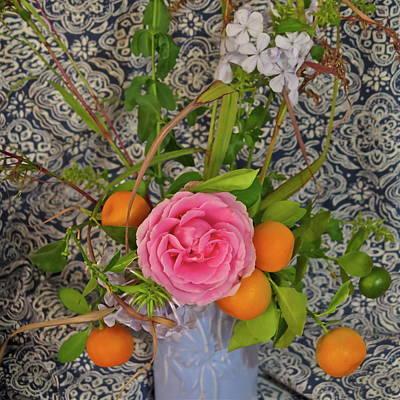 Floral Mosaic Art Print