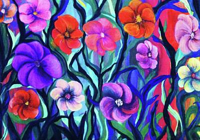 Floral No. 1 Art Print by Jeanette Stewart
