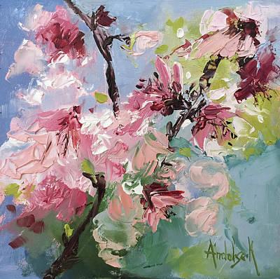 Painting - Floral Patterns by Barbara Andolsek