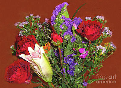 Photograph - Floral Photograph No. 2 by Merton Allen