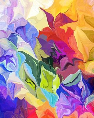 Digital Art - Floral Pretenders by David Lane