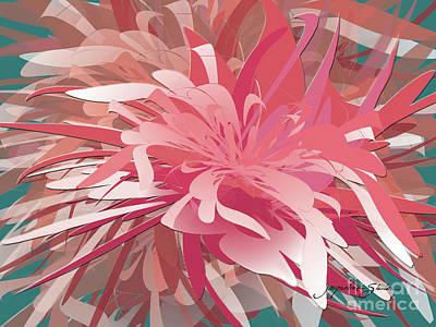 Digital Art - Floral Profusion by Jacqueline Shuler