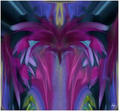 Photograph - Floral Rain by Wayne King