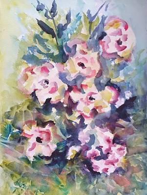 Painting - Floral Rhythm by Kim Shuckhart Gunns