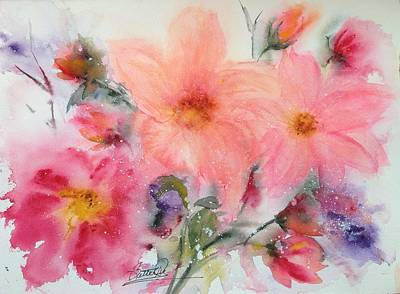 Painting - Floral Song by Bette Orr