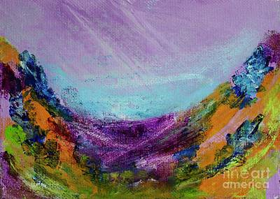 Painting - Floral Splash by Kim Nelson