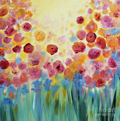 Painting - Floral Splendor II by Stacey Zimmerman