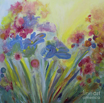 Painting - Floral Splendor by Stacey Zimmerman