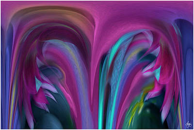 Photograph - Floral Stalagtites by Wayne King