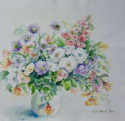 Painting - Floral Still Ife by Ingrid Dohm