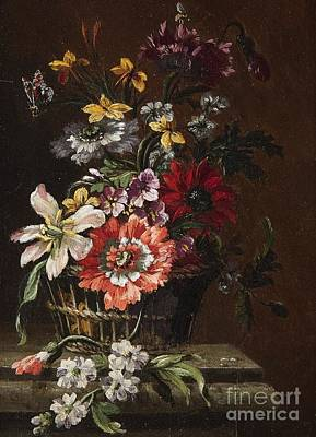 Painting - Floral Still Life by Celestial Images