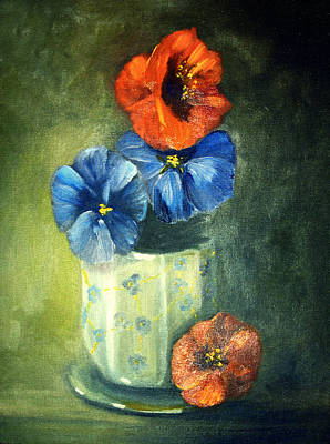 Painting - Floral Still Life by Georgiana Romanovna
