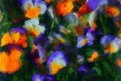 Photograph - Floral Study 053010a by David Lane