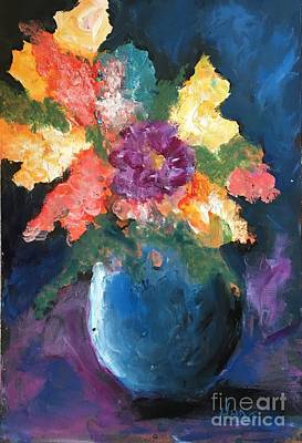 Painting - Floral Study 1 by Marcia Hero