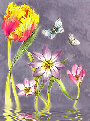 Floral Supreme Art Print by Mario Carini