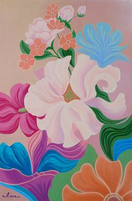 Painting - Floral Symphony by Irene Hurdle