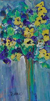 Painting - Floral Untitled by Terri Einer