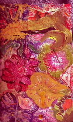 Floral Whimsy 2 Art Print by Anne-Elizabeth Whiteway