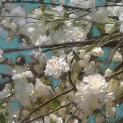 Floral01 Art Print