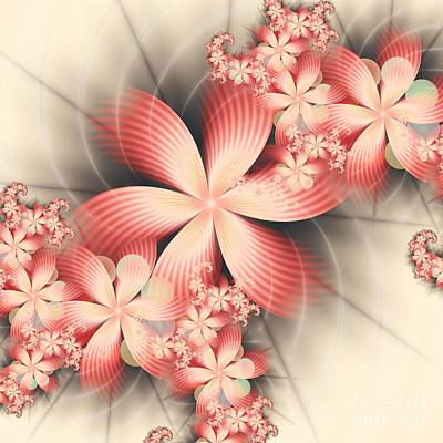 Digital Art - Floralina by Michelle H